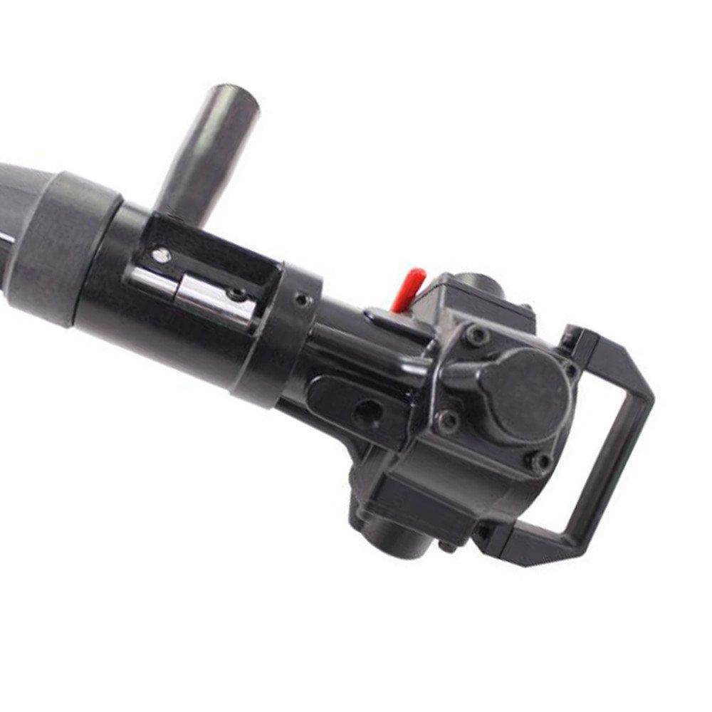 Zorvo Hand-held Pneumatic Paint Mixer Machine 5 Gallon Paint Shaker Air Agitator for Viscous Liquid Ink Dye Mixer Stirrer Agitator Paint Glue Mixing Tool Blender by zorvo (Image #4)