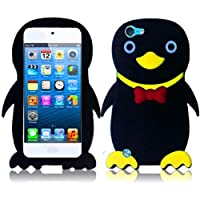 HR Wireless iPod touch 5 Duck Silicone Skin Cover (Black)