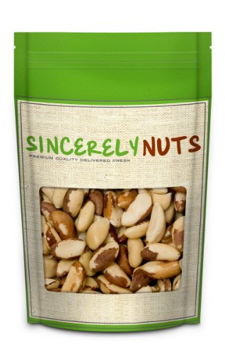 Raw Brazil Nuts (No Shell) 5lb Bag Bulk - Sincerely Nuts by Sincerely Nuts
