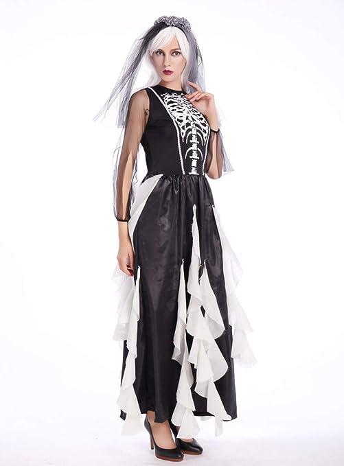 Shi18sport Mujeres Adultas De Halloween Cadáver De La Novia del ...