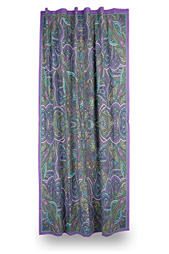 Sunshine Joy 3D Paisley Kaleidoscope Curtain Single Panel 56x85 Inches - Amazing 3D (Kaleidoscope Panel)