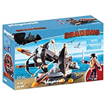 Playmobil How to Train Your Dragon Eret with 4 Shot Fire Ballista Building Set