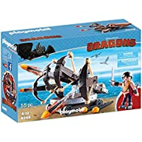 PLAYMOBIL How to Train Your Dragon Eret with 4 Shot Fire Ballista