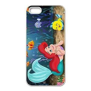 Cartoon Little Mermaid Phone Case for Iphone 5s