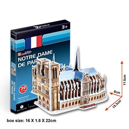 Jungle Architecture Notre-Dame De Paris Building Blocks Sets Classic Model Kids Gift Toys Compatible Another Home of Notre Dame