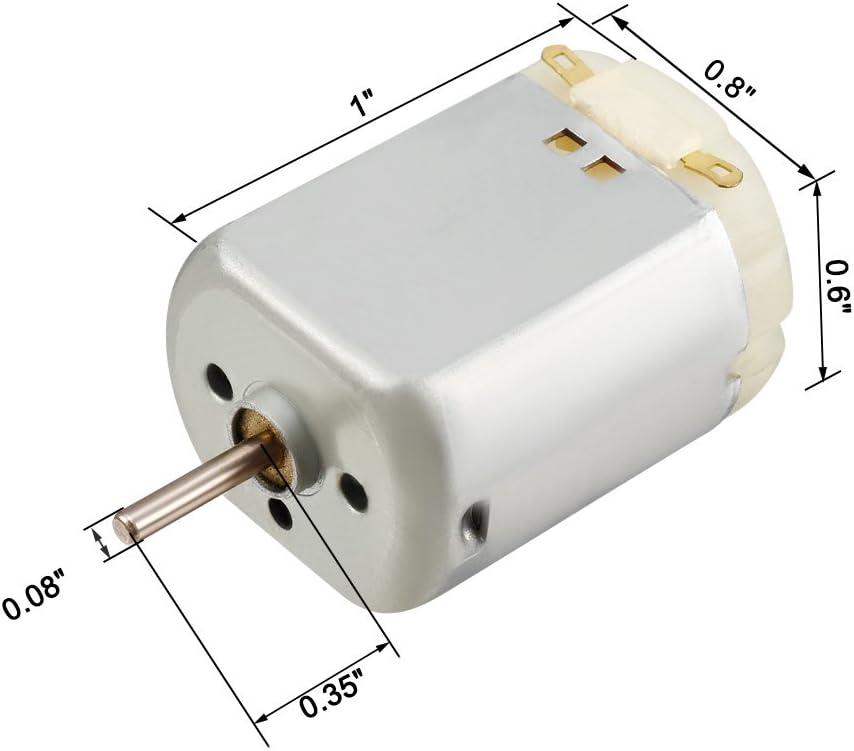sourcing map Mini Motor Micro Magnético De La Afeitadora Del ...