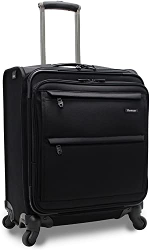 Pathfinder Revolution Plus 20 Inch Wide Body Expandable Carry-On, Black, One Size