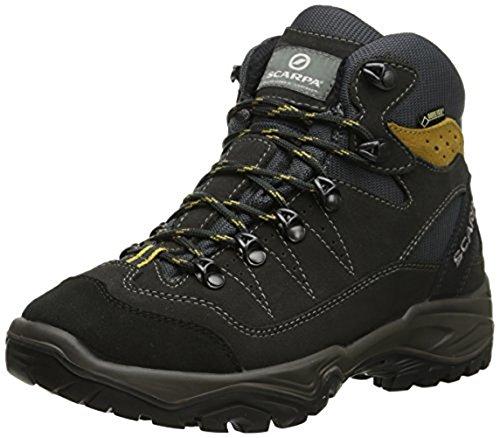 Scarpa Mens Mistral GTX Hiking Boots & E-Tip Glove Bundle Anthracite / Senape nslKUEfzL