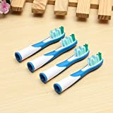 4PCS Replacement Electric Toothbrush Heads Bristle Brush