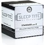 Sleep Tite by Malouf Hypoallergenic Pillow Protector, King, Set of 2