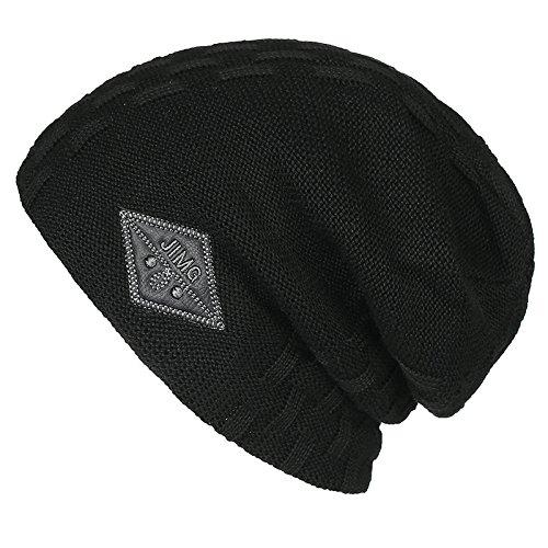 beanie Jefe hombres Halloween Black engrosamiento Hat Navidad caqui Carta Caps sombreros Hat MASTER sombreros tejer CYqtt
