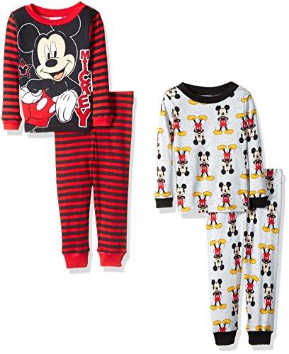 Disney Mickey Mouse 4 Piece Pajama