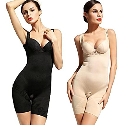 9511cf0bf512 Buy Full Body Shaper Slimmer Tummy Trimmer Slimming Suit Women'S Shapewear  size XL Online at Low Prices in India - Amazon.in