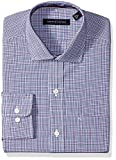 Tommy Hilfiger Mens Dress Shirts Non Iron Regular Fit Check Spread Collar