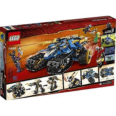 LEGO NINJAGO Legacy Thunder Raider 71699 Ninja Mech Adventure Toy Building Kit, New 2020 (576 Pieces): Toys & Games