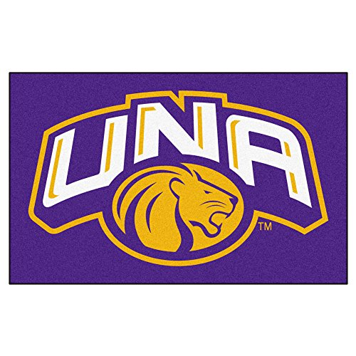 FANMATS NCAA University of North Alabama Lions Nylon Face Ultimat (Lions Tailgate Mat)