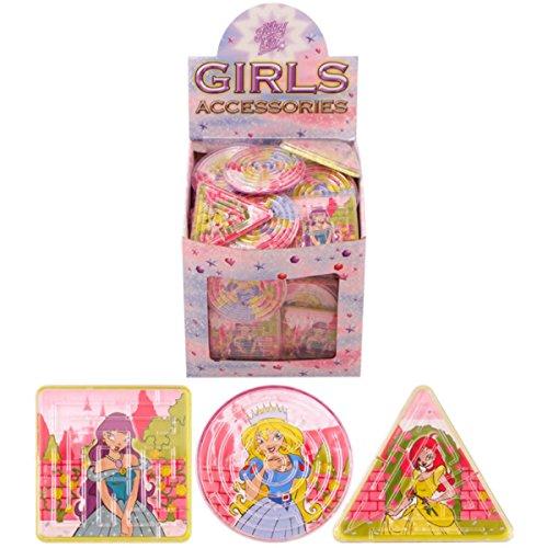 Puzzles labyrinthes Princesses assortis