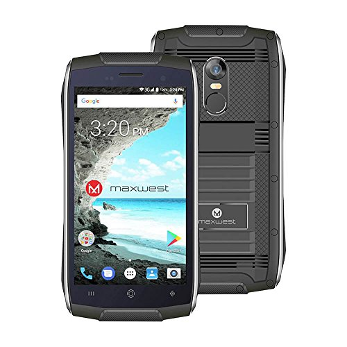 8GB 1.3GHz 1GB Unlocked Quad Band GSM Dual-SIM Water Resistant Android Smartphone ()