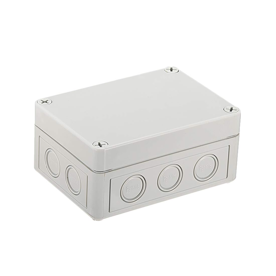 uxcell 130mmx94mmx61mm(5.1''x3.7''x2.4'') ABS Junction Box Universal Electric Project Enclosure