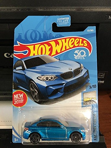 Discount HOT WHEELS 2016 BMW M2 BLUE FACTORY FRESH 50YR RARE 121/365 free shipping