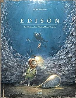 Book's Cover of Edison: The Mystery of the Missing Mouse Treasure (Mouse Adventures) (Inglés) Tapa dura – Álbum de fotos, 1 noviembre 2018