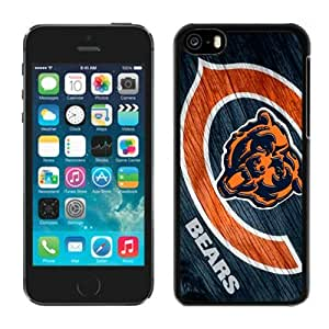 LJF phone case Customized Iphone 5c Case NFL Chicago Bears 38 Moblie Phone Sports Protective Covers