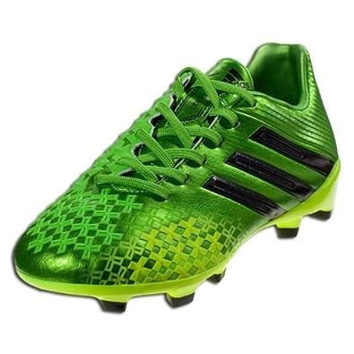 9b59262df Adidas Predator LZ TRX Firm Ground Junior (Ray Green BLACK1 Electricity)  (6)  Amazon.co.uk  Shoes   Bags