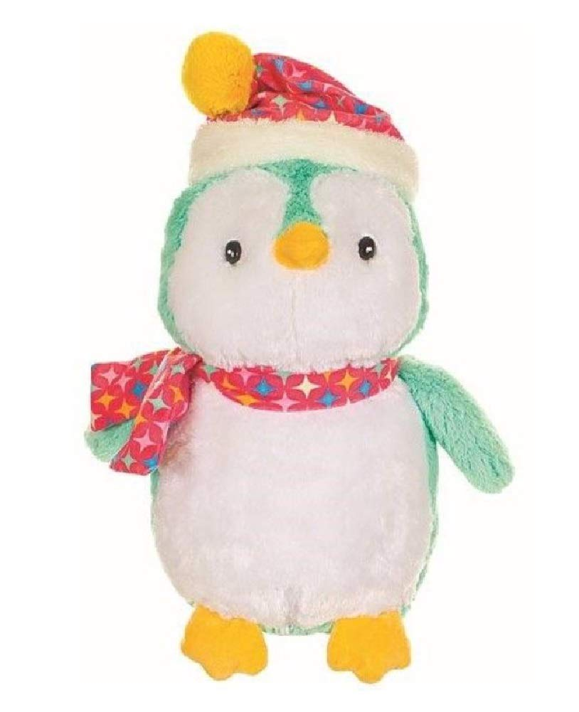 Amazon Com A T Designs Large Penguin Winter Stuffed Animal Plush
