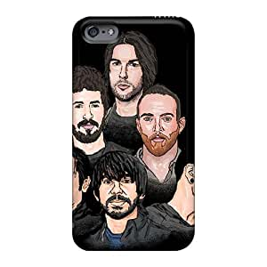 Scratch Resistant Hard Phone Case For Iphone 6 With Support Your Personal Customized Vivid Linkin Park Band Skin Marycase88