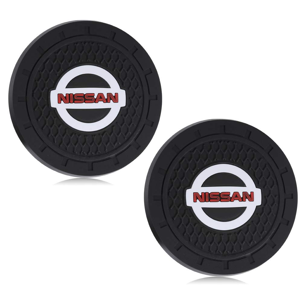 Yuanxi Electronics 2 Pcs 2.75 inch Car Interior Accessories Anti Slip Cup Mat for Mustang All Models