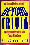 Beyond Trivia, Jerome B. Agel, 0671541285