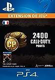 2000 (+400 bonus) points Call of Duty [Extension De Jeu] [Code Jeu PSN PS4 - Compte français]