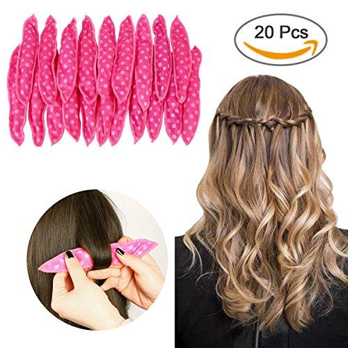 Sponge Flexible Foam Hair Curlers,ARTIFUN 20pcs Soft Sleep P