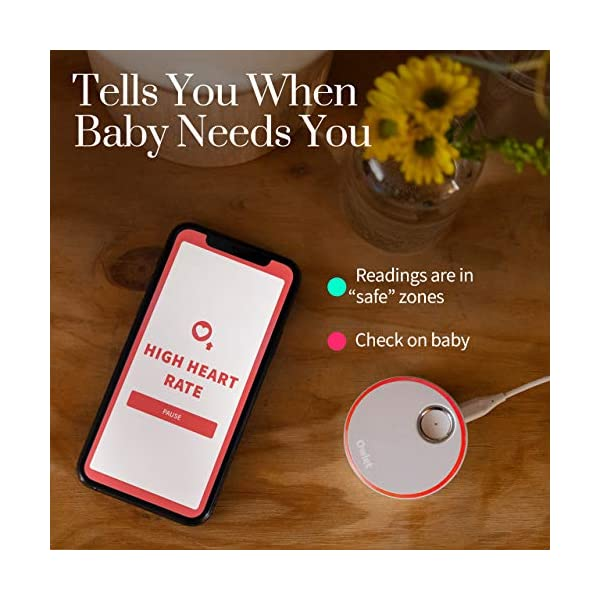 Owlet Duo Smart Baby Monitor with HD Video, Oxygen, and Heart Rate 4