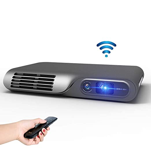 Proyector, Micro TT-P Touch Projector 1080P HD WiFi Home Myth ...