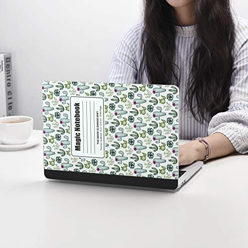 MacBook Pro 13 inch Case Cover 2020 2019 2018 2017 2016 Release A2159 A1706 A1708 A1989 Laptop Plastic Hard Shell Composition Notebook Case& Silicone Keyboard Cover & Dust Brush-Cactus Notebook