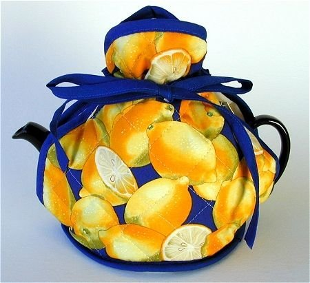 Now Designs - Adjustable Wrap - Tea Cosy - Bright Lemons by Now Designs