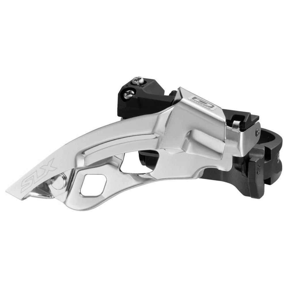 D/érailleur shimano sLX m670 fD-dual top swing pull 31,8//34,9 mm//10 vitesses-gris