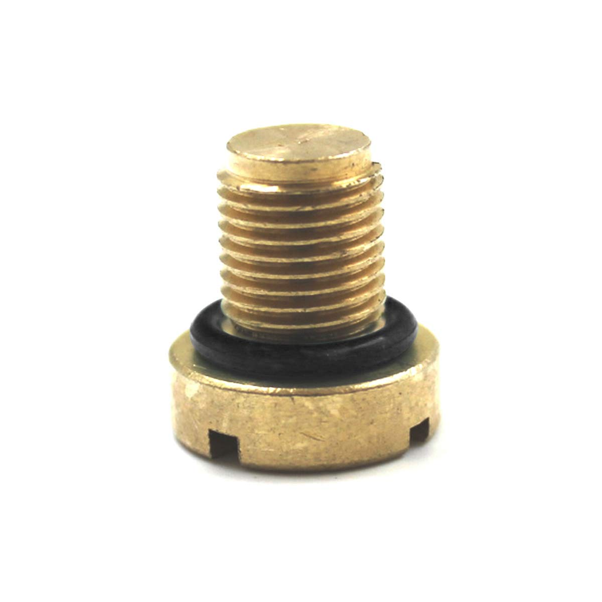 DEALPEAK Car Reservoir Screw Replacement Coolant Tank Bleeder Screws Brass for Auto E46 E92 E90 E36 E39