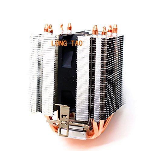 LONG TAO Dual Tower Heat-Sink CPU Cooler with 4 Direct Contact Heatpipes by LONG TAO