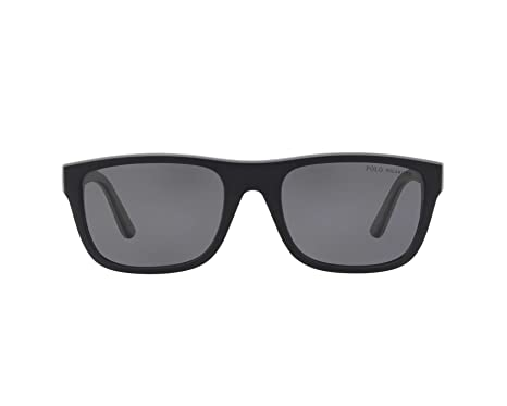 Ralph Lauren POLO 0PH4145 Gafas de sol, Matte Black/Rubber ...