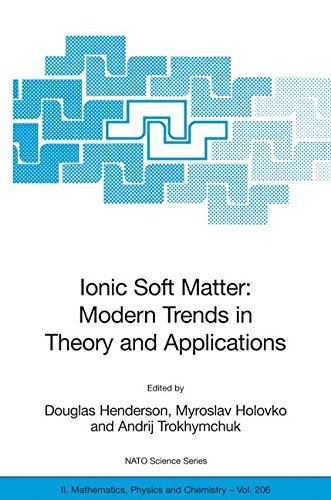 Ionic Soft Matter: Modern Trends in Theory and Applications: Proceedings of the NATO Advanced Research Workshop on Ionic