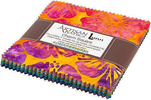 Lunn Studios Artisan Batiks Totally Tropical Charm Square 42 5-inch Squares Robert Kaufman