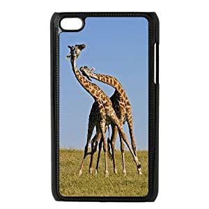 High Quality Phone Back Case Pattern Design 1Giraffe Animal- FOR IPod Touch 4th