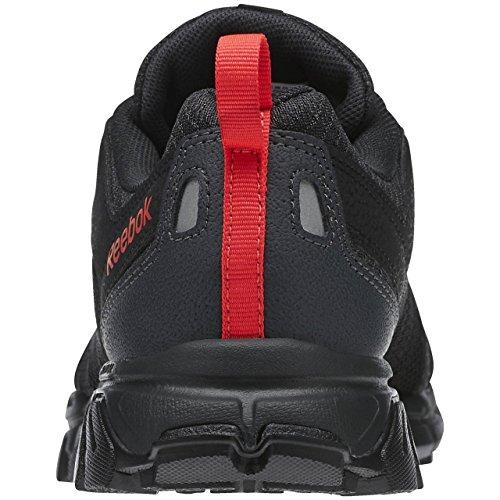 Reebok Trailgrip RS 4.0 - Zapatillas de deporte, Mujer Negro / Gris / Rojo (Black / Gravel / Neon Cherry)