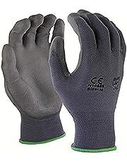 Azusa Nylon Safety Gloves, Small, Gray