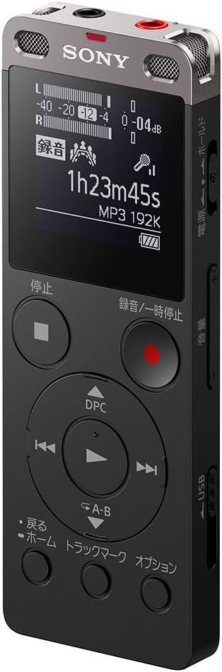 Sony Icd Ux560f B Stereo Ic Rekorder 4 Gb Mit Elektronik