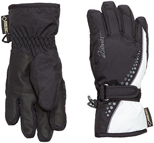 Ziener Mädchen Handschuhe Leni GTX R Gore Warm Girls Gloves Junior, Black/White, 3.5, 801934