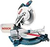 Bosch 3912 15 amp 12-inch Compound Miter Saw with Dust Bag and Work Clamp