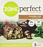Zone Perfect Nutrition Bars, Chocolate Mint, 8.8 Oz (Pack of 2)